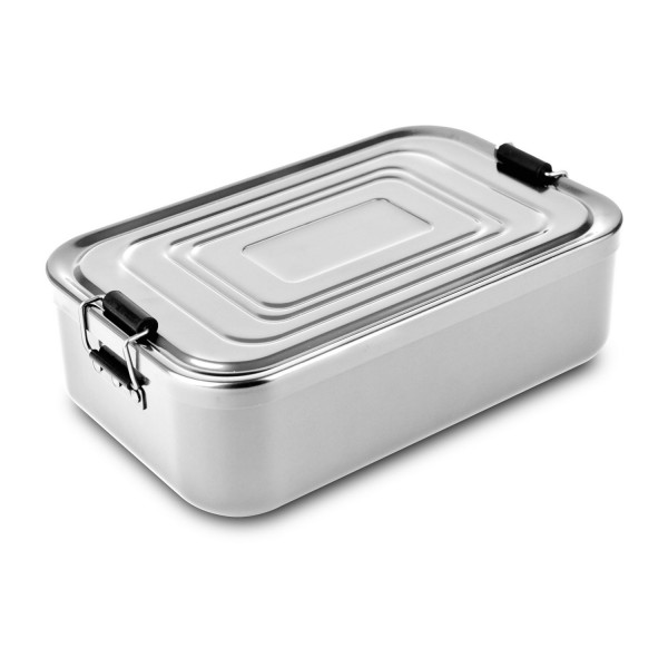 Lunchbox // Quadra Silber XL