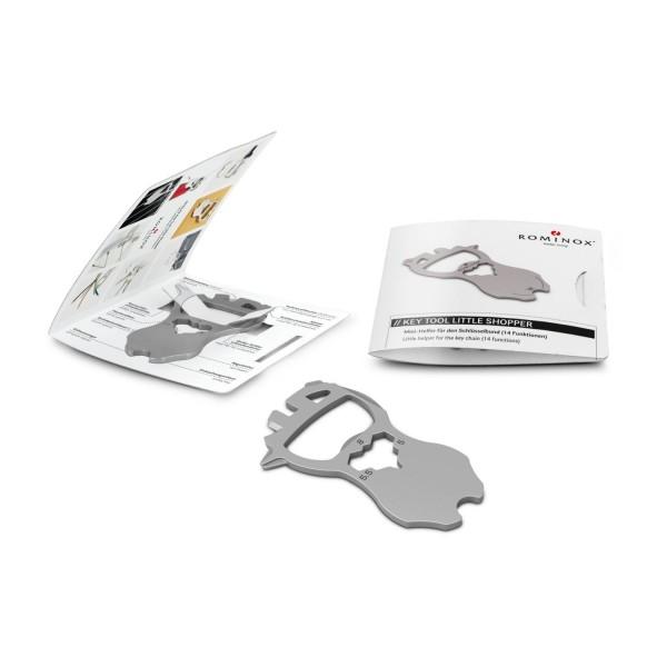 ROMINOX® Key Tool Little Shopper – 14 Funktionen